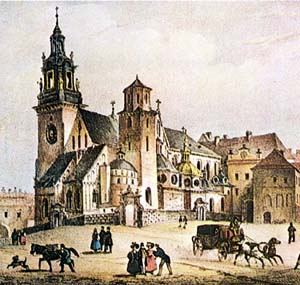 the Wawel Cathedral, 19th c.