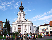 Wadowice, the birthplace of John Paul II