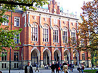 Collegium Novum, the Krakow university's headquarters