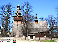 17th-century wooden church in the town of Rabka