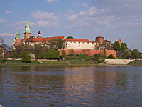 Wawel Hill in Krakow, Poland