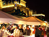 Christmas market in Krakow