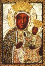 Holy icon of Our Lady of Czestochowa