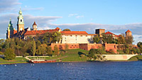 View of the Wawel Royal Castle