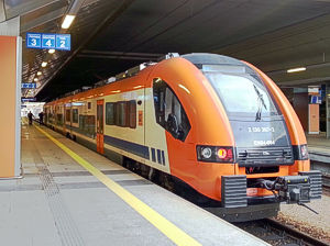 Krakow airport train