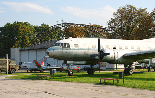 Open-air exhibition of the Polish Museum Aviation in Krakow