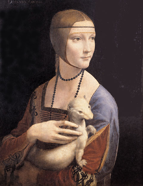 Krakow's Lady with an Ermine, Leonardo da Vinci's best woman portrait