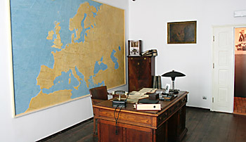 Oskar Schindler's office in his Krakow factory turned into a museum