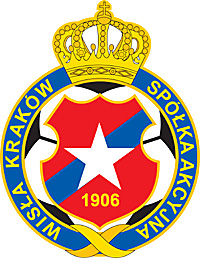 Emblem of the Wisla Krakow soccer club