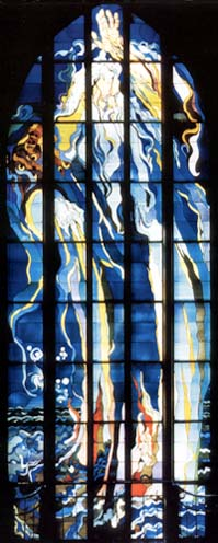 'Creation' window by Wyspianski