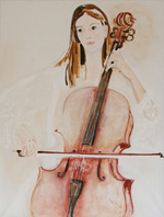 Izabela Chemielinska-Zbrozek: Beautiful Cellist