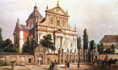 SS Peter and Paul's church, Krakow