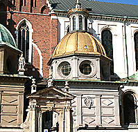 King Sigismund's Chapel of the Wawel Cathedral in Krakow, Poland