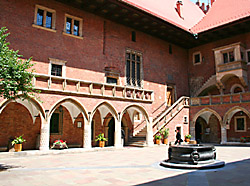 The Krakow university's Great College, Collegium Maius